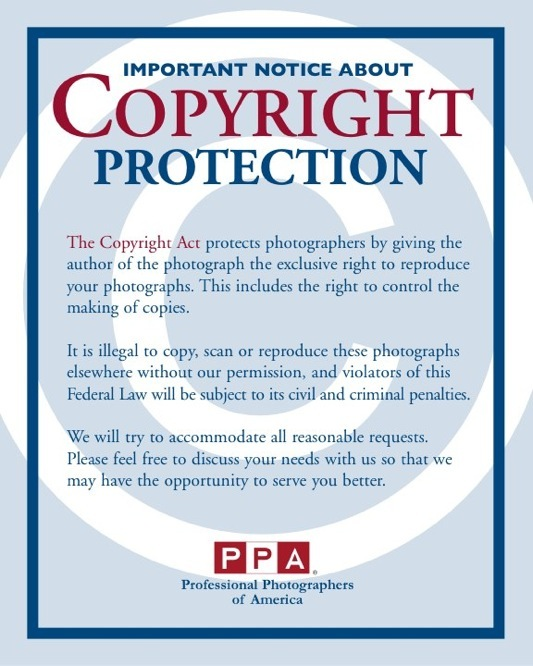 Photography Copyright Notice  Chicago Photographer  Commercial